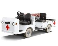 Taylor-Dunn Bigfoot Ambulance